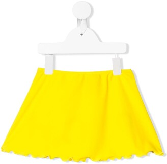 John Richmond Junior Scalloped Hem Beach Skirt
