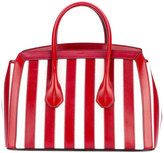 Bally striped tote - women - Leather - One Size