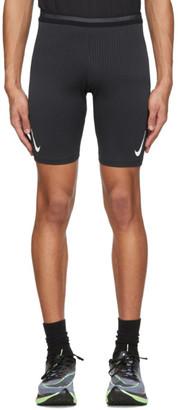 Nike Black AeroSwift Running Shorts