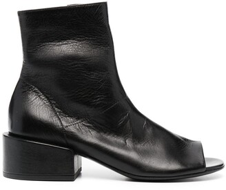 Marsèll Cut-Out Leather Boots