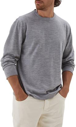 Brunello Cucinelli Men's Wool-Cashmere Crewneck Sweater