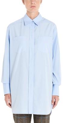 Givenchy Logo Embroidered Oversize Shirt