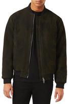 Topman Camo Bomber Jacket