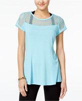 Jessica Simpson The Warm Up Juniors' Mesh T-Shirt