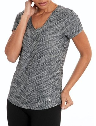 Bally Total Fitness Total Fitness Women's Active Mitered Tee