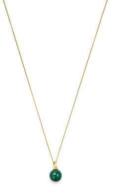 Marco Bicego 18K Yellow Gold Africa Malachite Pendant Necklace, 16.75
