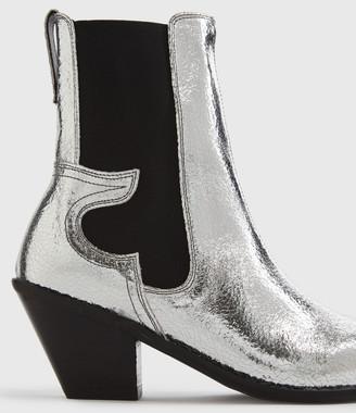 AllSaints Sara Leather Boots