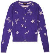 Juicy Couture Girls Sweater Lurex Star Cardigan