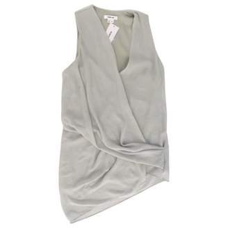 Helmut Lang Grey Polyester Tops