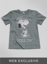 Junk Food Clothing Toddler Boys Snoopy Rock On! Tee-steel-2t