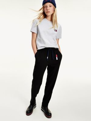 Tommy Hilfiger Relaxed Fit Viscose Trousers