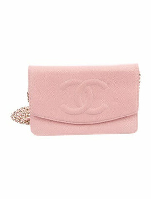 Chanel Timeless Wallet On Chain Pink