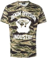Diesel camouflage print T-shirt