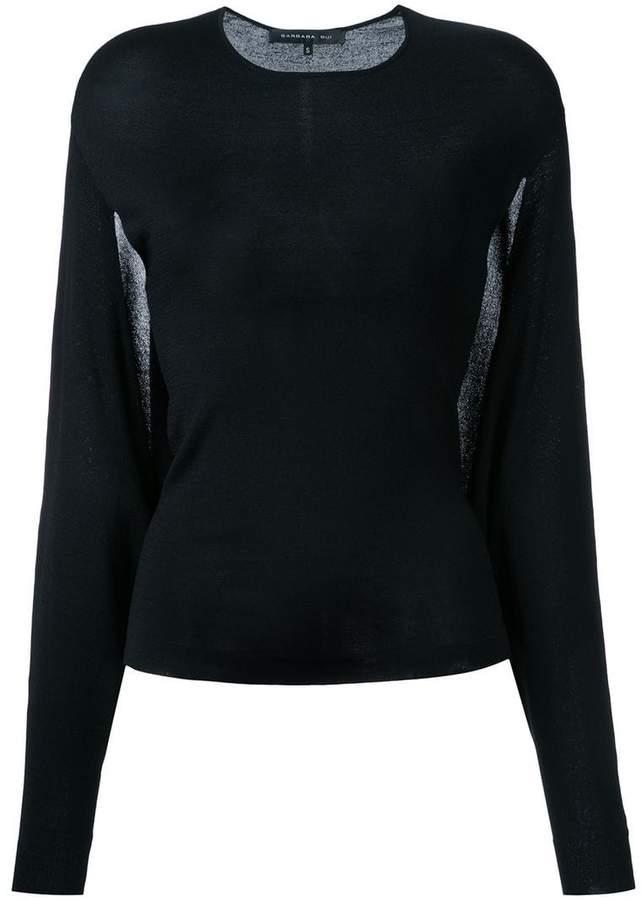 Barbara Bui sheer detail jumper