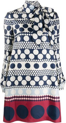 Valentino Polka-Dot Shift Dress