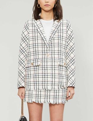 Maje Vianey cotton-blend blazer