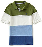 Nautica Big Boys 8-20 Striped Polo Short-Sleeve Shirt