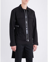 Helmut Lang Hand-print denim jacket