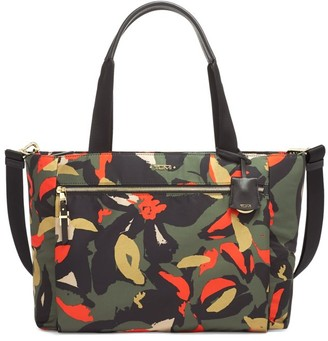 Tumi Voyageur Mauren Abstract Floral-Print Tote