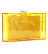 Charlotte Olympia PANDORA COLOUR BOX CLUTCH