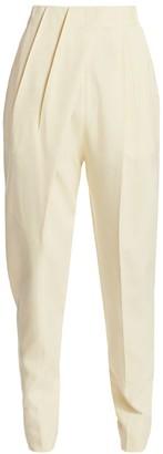 Proenza Schouler Pleated High-Waist Trousers