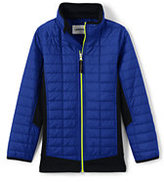 Classic Little Boys Primaloft Hybrid Jacket-Zesty Orange