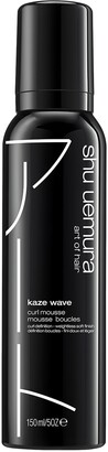 shu uemura Kaze Wave Curl and Wave Defining Hair Mousse