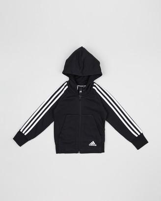 adidas Must-Haves 3-Stripes Full-Zip Hoodie - Kids-Teen