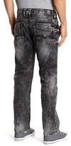 "Buffalo David Bitton Driven Straight Leg Jeans - 30-32"" Inseam"