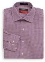 Saks Fifth Avenue Two-Tone Dotted Dress Shirt