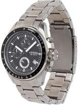 Fossil Decker Chronograph Watch Silvercoloured