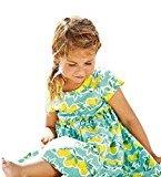 Hot Baby Dress! AMA(TM) Toddler Kids Baby Girls Printing Short Sleeve Princess Party Tutu Dresses (5/6T, Green)