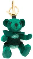 Burberry bear keyring - women - Calf Leather/Polyamide/Polyester/Cashmere - One Size