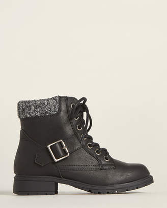 Mia Toddler/Kids Girls) Black Debby Ankle Boots