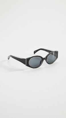 Linda Farrow Luxe Mathew Williamson x Linda Farrow Oval Sunglasses