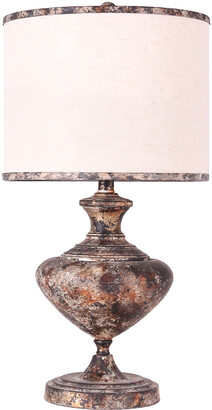 Ahs Lighting & Home Decor 31In Madrid Metal Table Lamp
