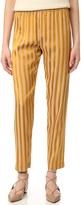 Giada Forte Satin Striped Pants