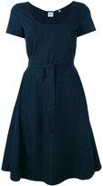 Aspesi belted flared dress - women - Cotton - 38