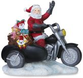Pipka 6.5-Inch Sidecar Santa Figurine