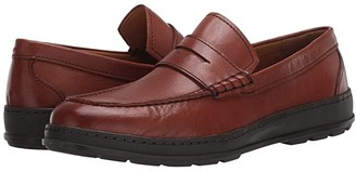 Cole Haan Hamlin Traveler Penny Loafer (British Tan Handstain) Men's Shoes