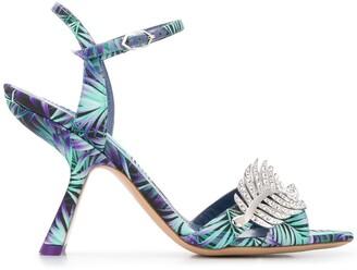 Nicholas Kirkwood MONSTERA sandals 90mm
