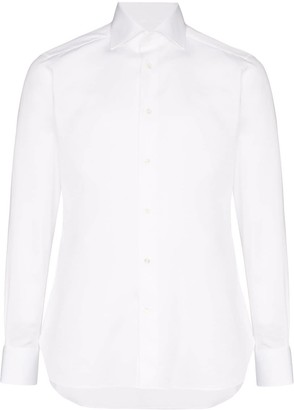 Ermenegildo Zegna Classic Piping Shirt
