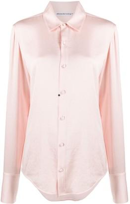Alexander Wang Wash + Go regular-fit shirt