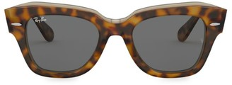 Ray-Ban RB2186 49MM Tortoiseshell Wayfarer Sunglasses