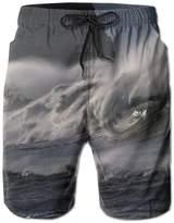 SANDAD Tsunami Soft Sports Basketball Clothes Casual Swimming Drawstring Board Shorts Pockets