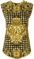 Balmain cherub print tank top - women - Cotton - 38