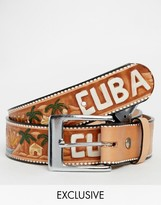 Reclaimed Vintage Cuba Leather Belt