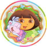 Nickelodeon Zak! Dora the Explorer Rimmed Plate