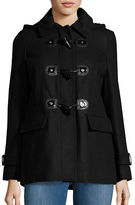 Michael Kors Petite Wool-Blend Toggle Coat