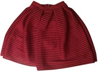 Maje Spring Summer 2018 Pink Skirt for Women